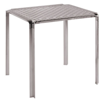 tavolo da giardino Ami Ami di Kartell - Fumé - Metallo