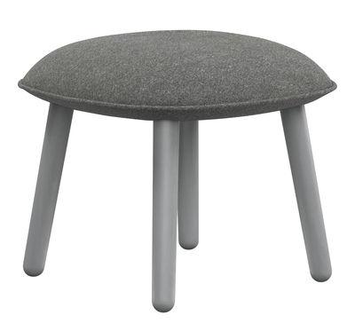 repose pieds ace tissu bois tissu gris normann copenhagen made in design. Black Bedroom Furniture Sets. Home Design Ideas