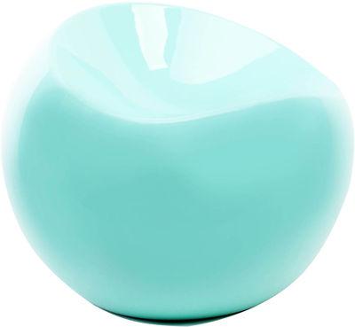 Foto Pouf Ball Chair di XL Boom - Verde acqua - Materiale plastico