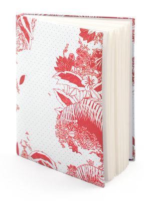 Accessoires - Bloc-notes, cahiers et stylos - Carnet Moogli / Couverture coton - Hartô - Corail - Coton, Papier