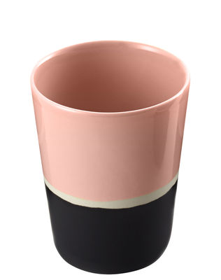 Verre Sicilia - Maison Sarah Lavoine blanc,noir,baby rose en céramique