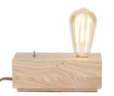Luminaire - Lampes de table - Lampe de table Kobe / Frêne - It's about Romi - Bois naturel - Frêne