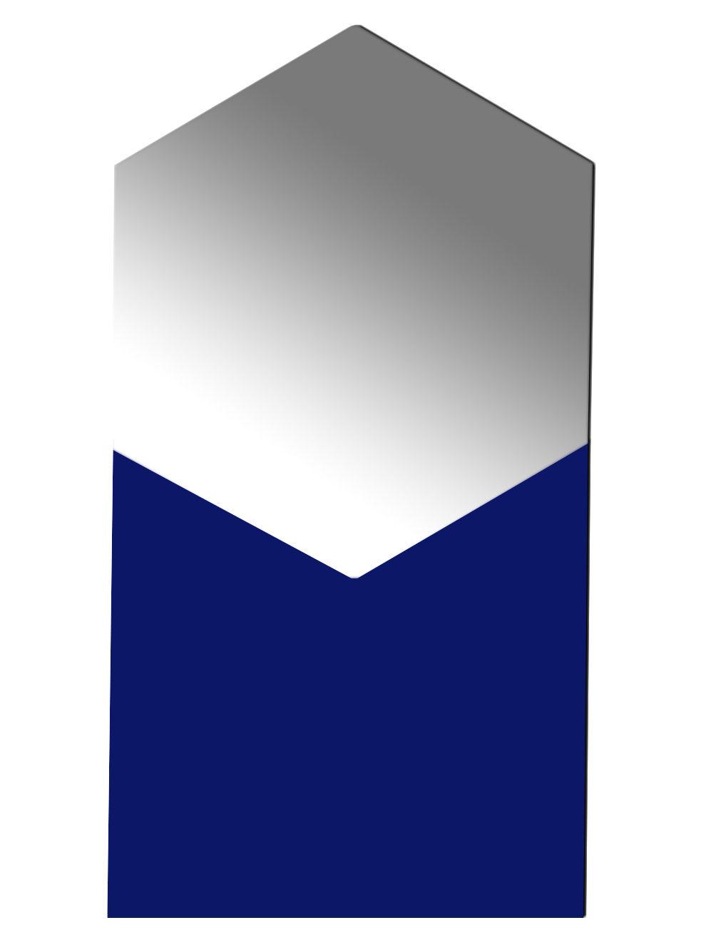 miroir shape hexagonal small l 50 x h 93 cm bleu d 39 eau h 93 cm hay. Black Bedroom Furniture Sets. Home Design Ideas