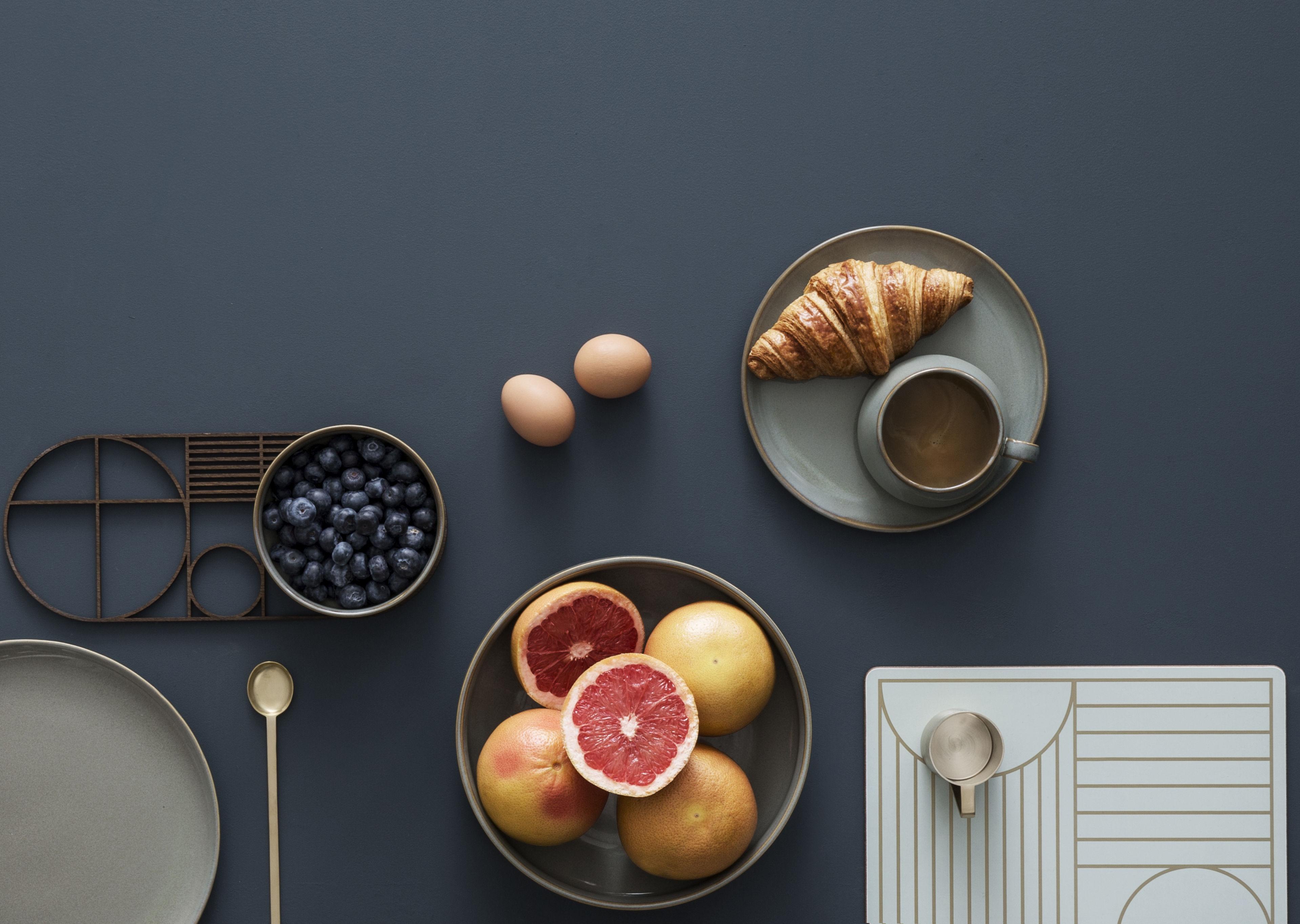 set de table outline li ge 40 x 30 cm motifs dor s blanc cass ferm living. Black Bedroom Furniture Sets. Home Design Ideas