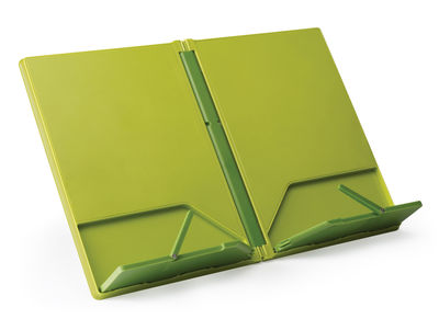 pr sentoir livre cookbook pliable vert joseph joseph. Black Bedroom Furniture Sets. Home Design Ideas