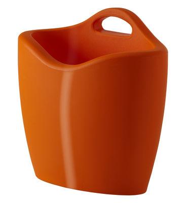 Porte-revues Mag version laquée - Slide laqué orange en matière plastique