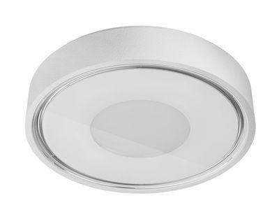 Applique Box / Plafonnier - LED - Ø 11 cm - Panzeri blanc en métal