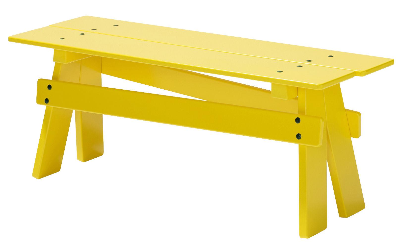 banc enfant play l 83 cm bois jaune normann copenhagen. Black Bedroom Furniture Sets. Home Design Ideas