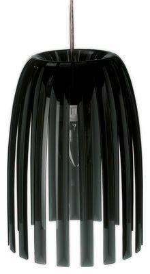 Lighting - Pendant Lighting - Josephine Small Pendant - / Ø 21,8 cm x H 27,6 cm by Koziol - Solid black - Polystirol