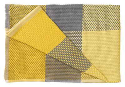 Foto Plaid Loom - /130 x 80 cm di Muuto - Giallo - Tessuto