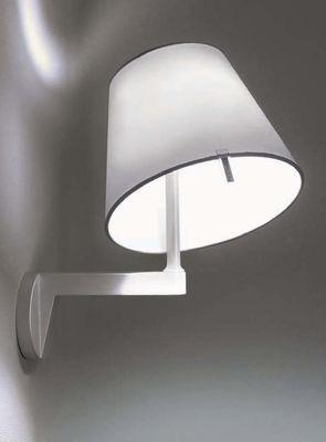 Melampo applique grigio alluminio by artemide made in design - Artemide lampade da parete ...
