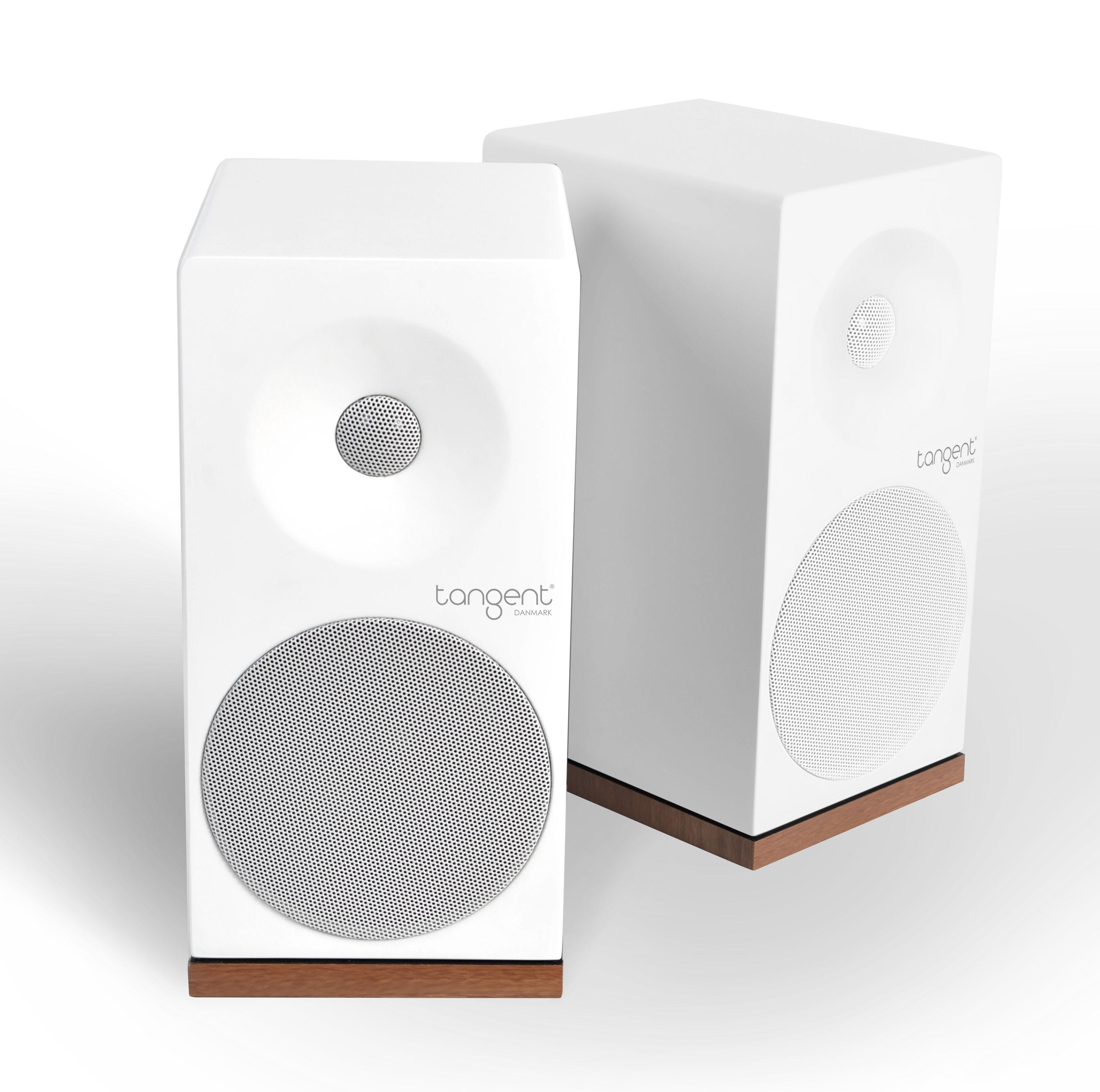enceinte bluetooth spectrum x5 bt set 2 enceintes blanc tangent. Black Bedroom Furniture Sets. Home Design Ideas