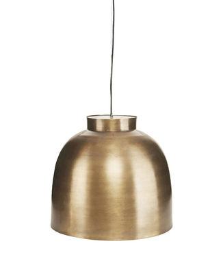 Bowl Medium Pendelleuchte / Messing - Ø 35 cm - House Doctor - Messing