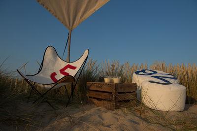 Scopri poltrona aa butterfly vela da barca riciclata for Arredamento barca