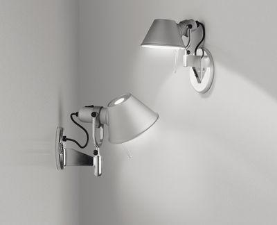 Tolomeo faretto wandleuchte aluminium by artemide made in design