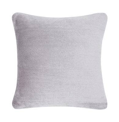 Déco - Coussins - Coussin Soft / Velours - 45 x 45 cm - Tom Dixon - Gris - Coton, Plumes de canard, Velours mohair
