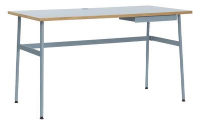 Bureau Journal / 1 tiroir - Normann Copenhagen bleu clair en bois