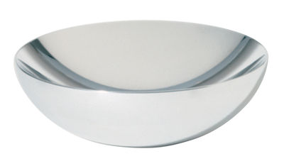 Tableware - Fruit Bowls & Centrepieces - Double Bowl by Alessi - Diameter 25 cm - Polished steel