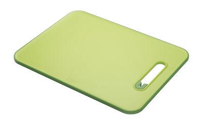 Image of Tagliere Slice&Sharpen - / Affilacoltelli integrato di Joseph Joseph - Verde,Verde scuro - Materiale plastico