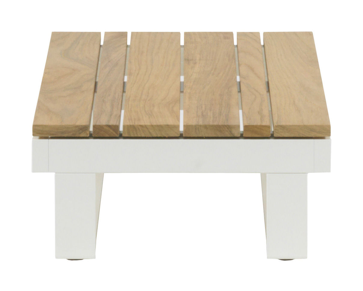 Table basse pure teck 45 x 90 cm 90 x 45 cm teck viteo for Table basse 85 cm
