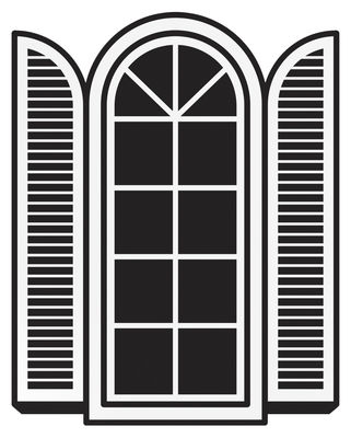 Decoration - Wallpaper & Wall Stickers - Open a window Sticker by Domestic -  - Vinal