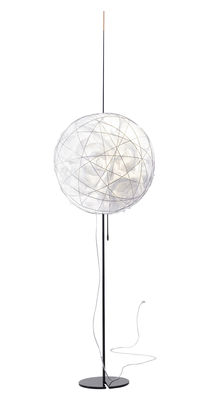 Knüller Lampada a stelo Acciaio / Sfera nuvola by Ingo Maurer | Made ...