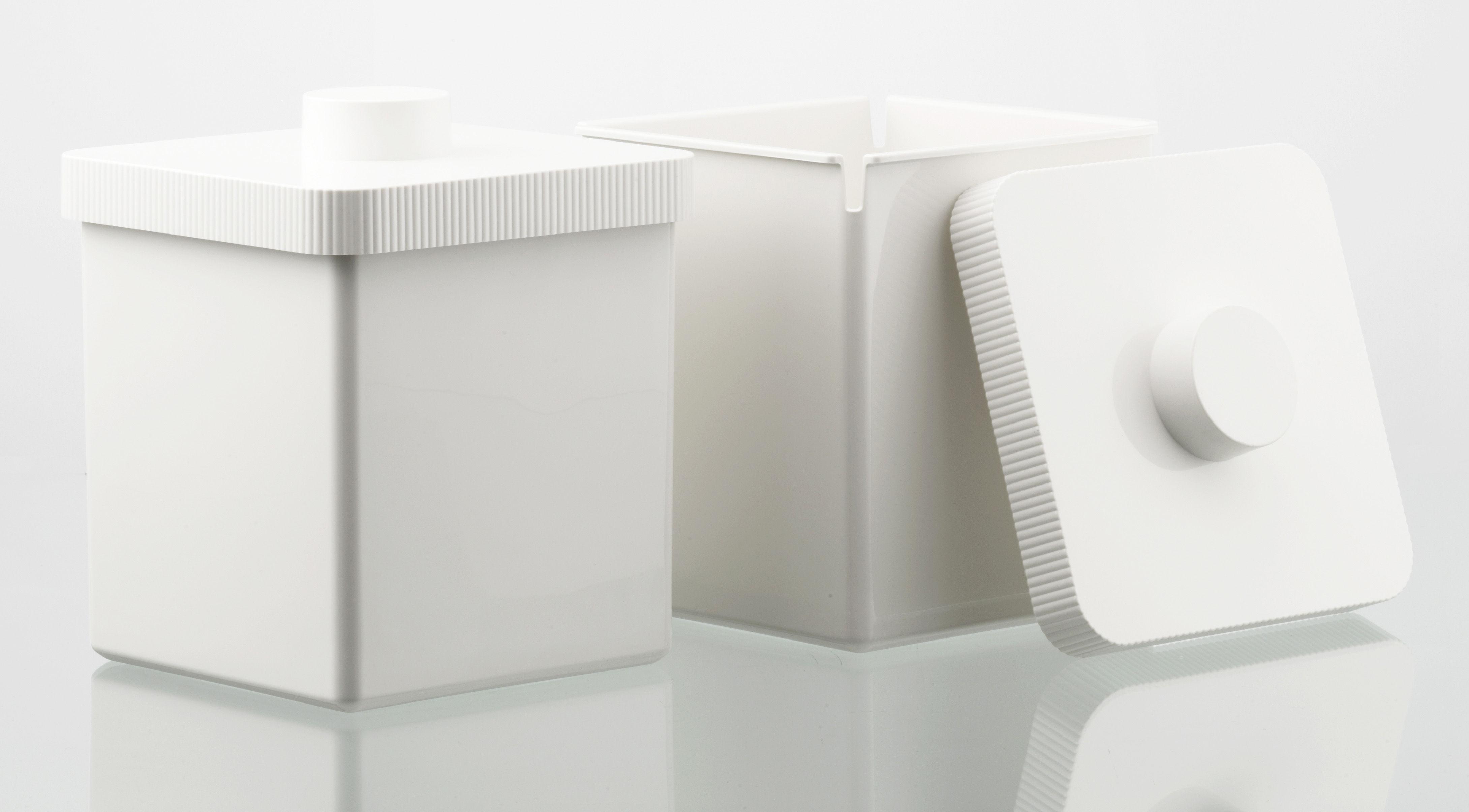 poubelle kali 10 litres blanc authentics made in design. Black Bedroom Furniture Sets. Home Design Ideas