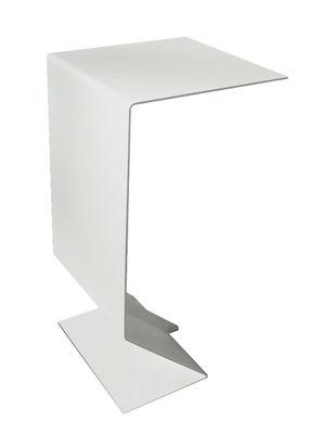 Foto Tavolino d'appoggio Mark di Moroso - Azzurro - Metallo