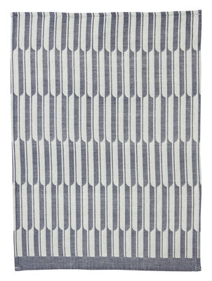 Torchon Arch - Ferm Living blanc cassé,bleu clair en tissu