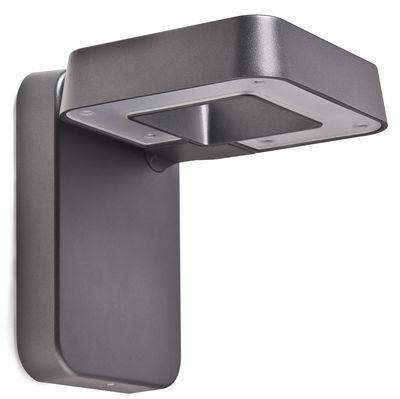 Luminaire - Appliques - Applique Square LED - Roger Pradier - Gris anthracite / verre clair - Aluminium, Polycarbonate