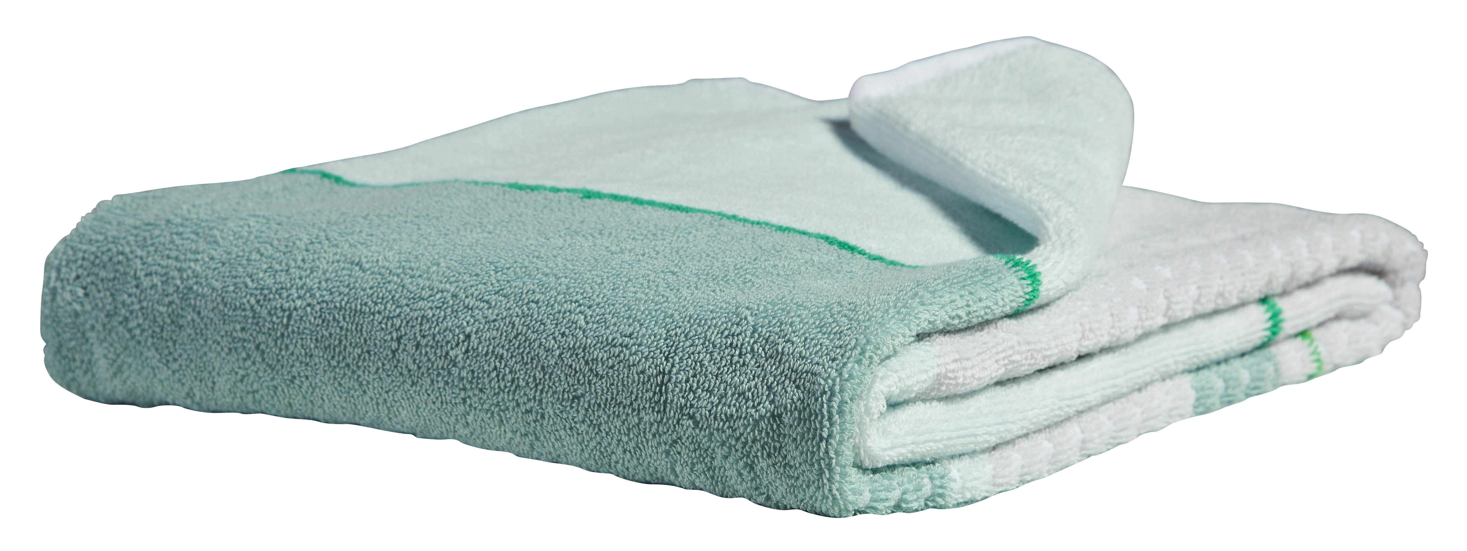... > Bathroom accessories > Glass Green Towel - 140 x 70 cm by Hay
