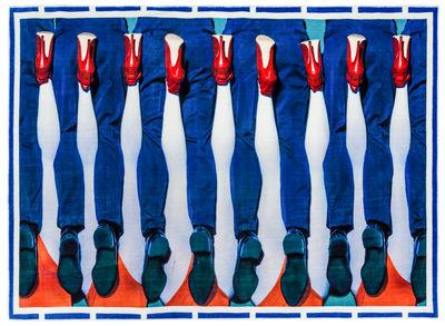 Déco - Tapis - Tapis Toiletpaper - Jambes / 194 x 280 cm - Seletti - Jambes / Multicolore - Coton, Polyester