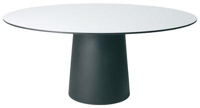 Plateau de table Container / Ø 140 cm - Moooi blanc en matière plastique
