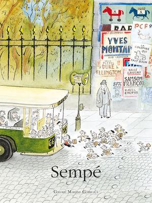 Déco - Objets déco et cadres-photos - Affiche Sempé Bus / 40 x 50 cm - Image Republic - Bus - Papier