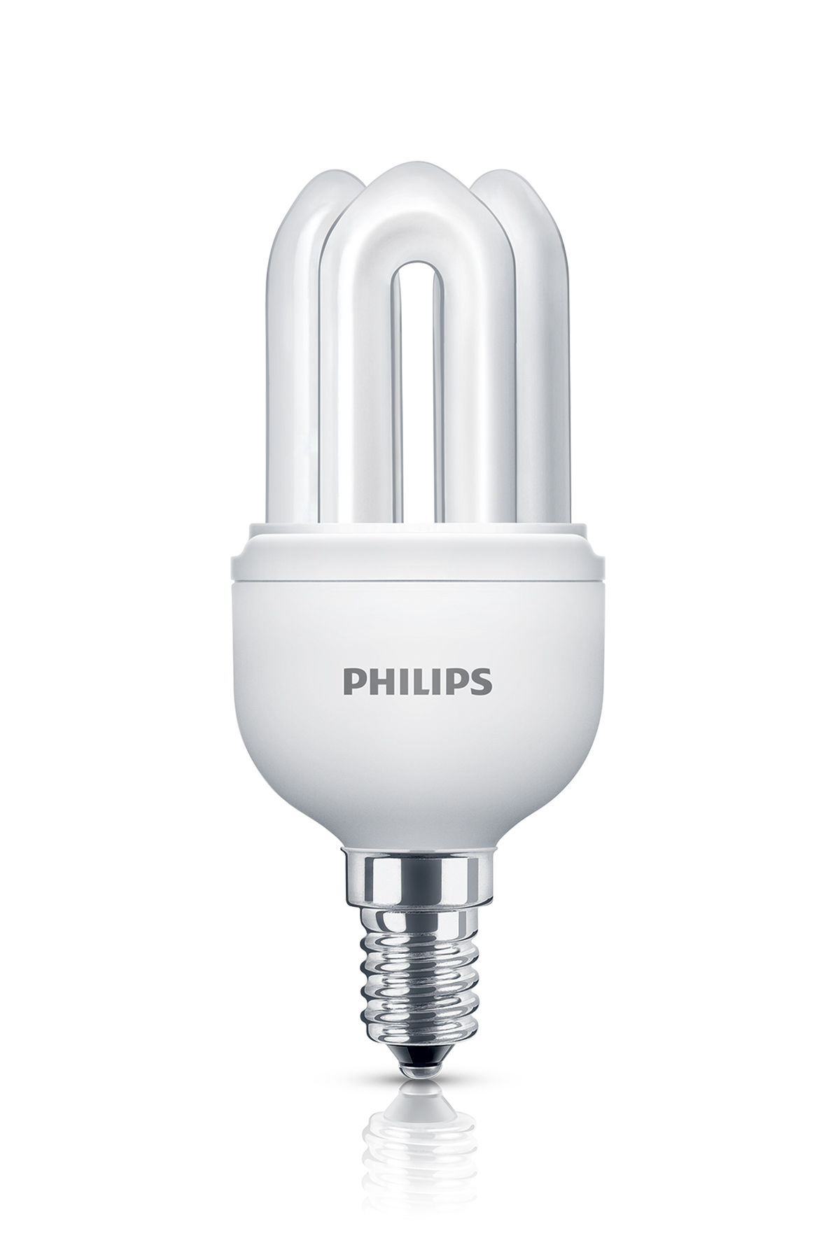 genie fluocompact bulb e14 11w 50w 600 lumen 11w 50w by philips. Black Bedroom Furniture Sets. Home Design Ideas
