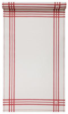 Torchon Rétro / Rouleau de 2 torchons prédécoupés - MYdrap rouge en tissu