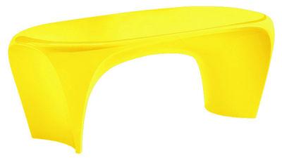 Tavolino Lily di MyYour - Giallo opaco - Materiale plastico