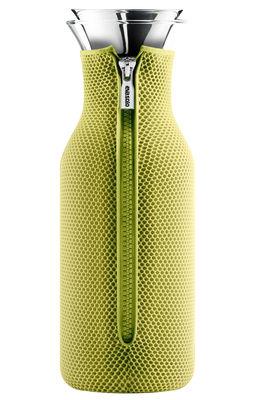 Foto Caraffa Stoppe-goutte - Caraffa salvagoccia 1 L / Fodero isolante di Eva Solo - Limone verde - Vetro