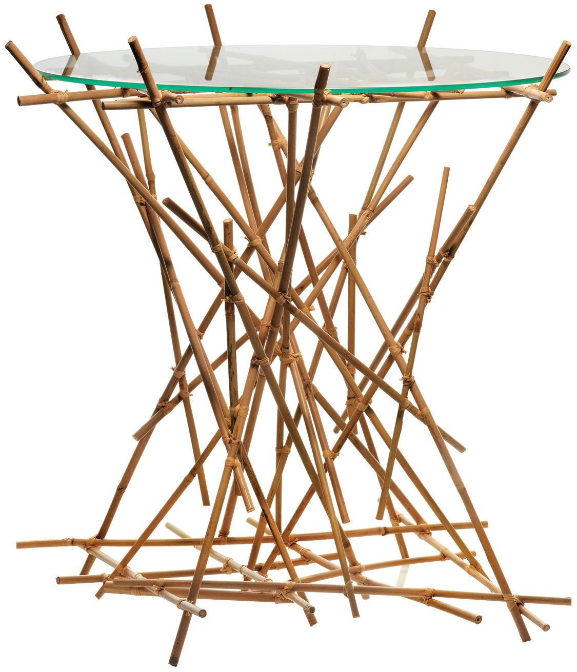 Bamboo Table With Design: Blow Up Bamboo Coffee Table Bamboo By Alessi