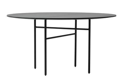 Snaregade Tisch / rund - Ø 140 cm - Menu - Schwarz