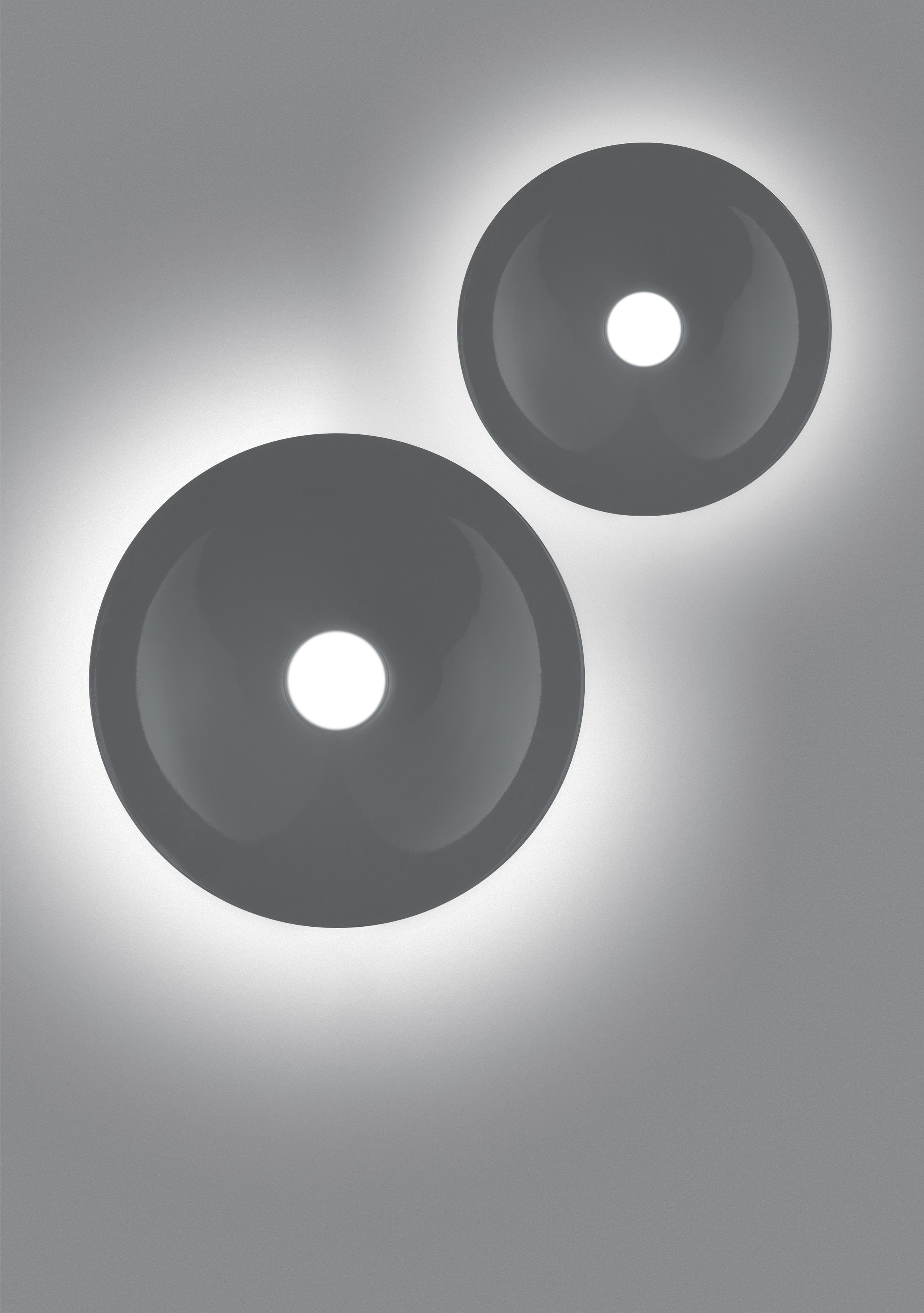 lunarphase 600 deckenleuchte 60 cm artemide. Black Bedroom Furniture Sets. Home Design Ideas