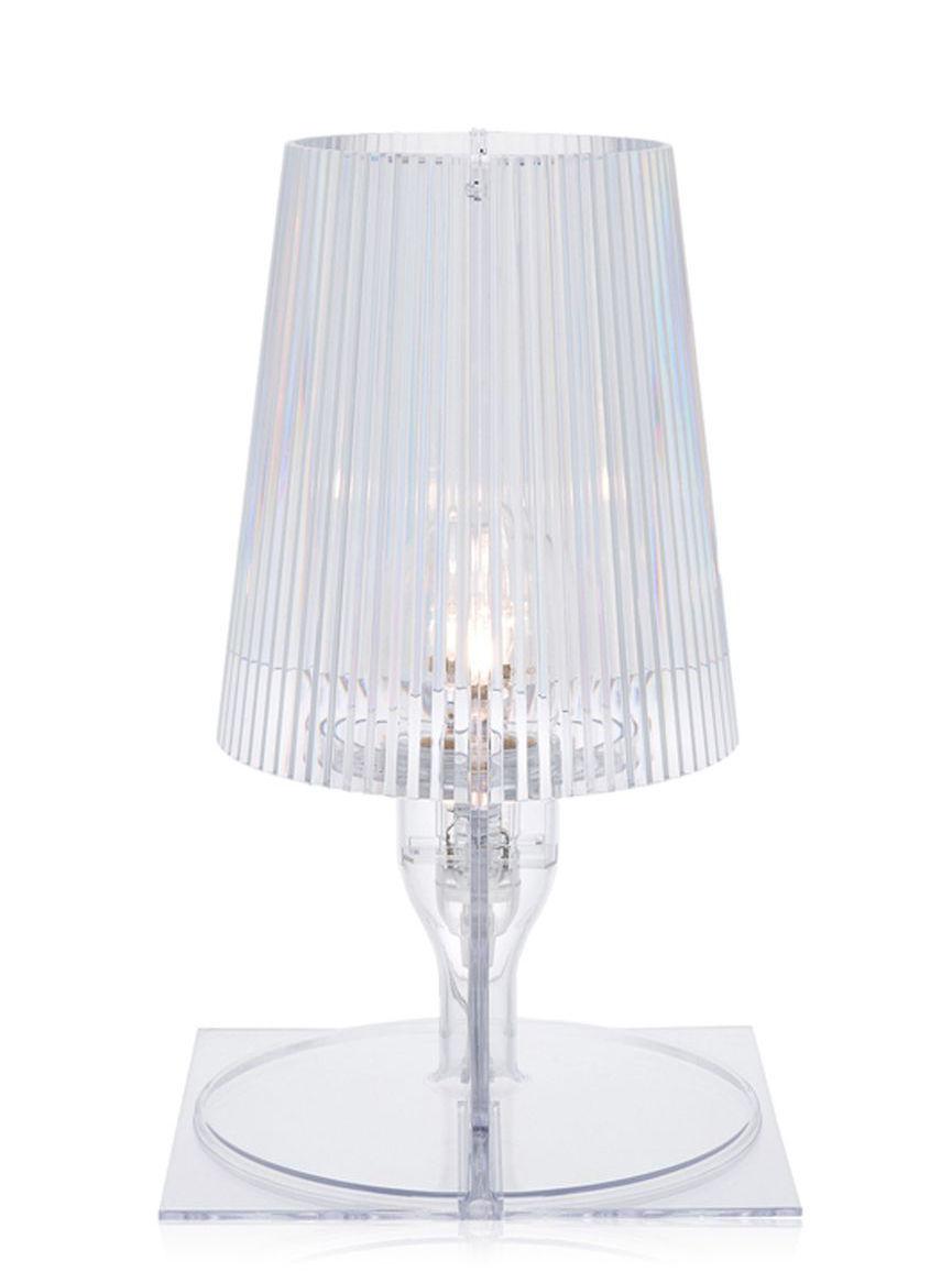 lampe de table take cristal kartell. Black Bedroom Furniture Sets. Home Design Ideas
