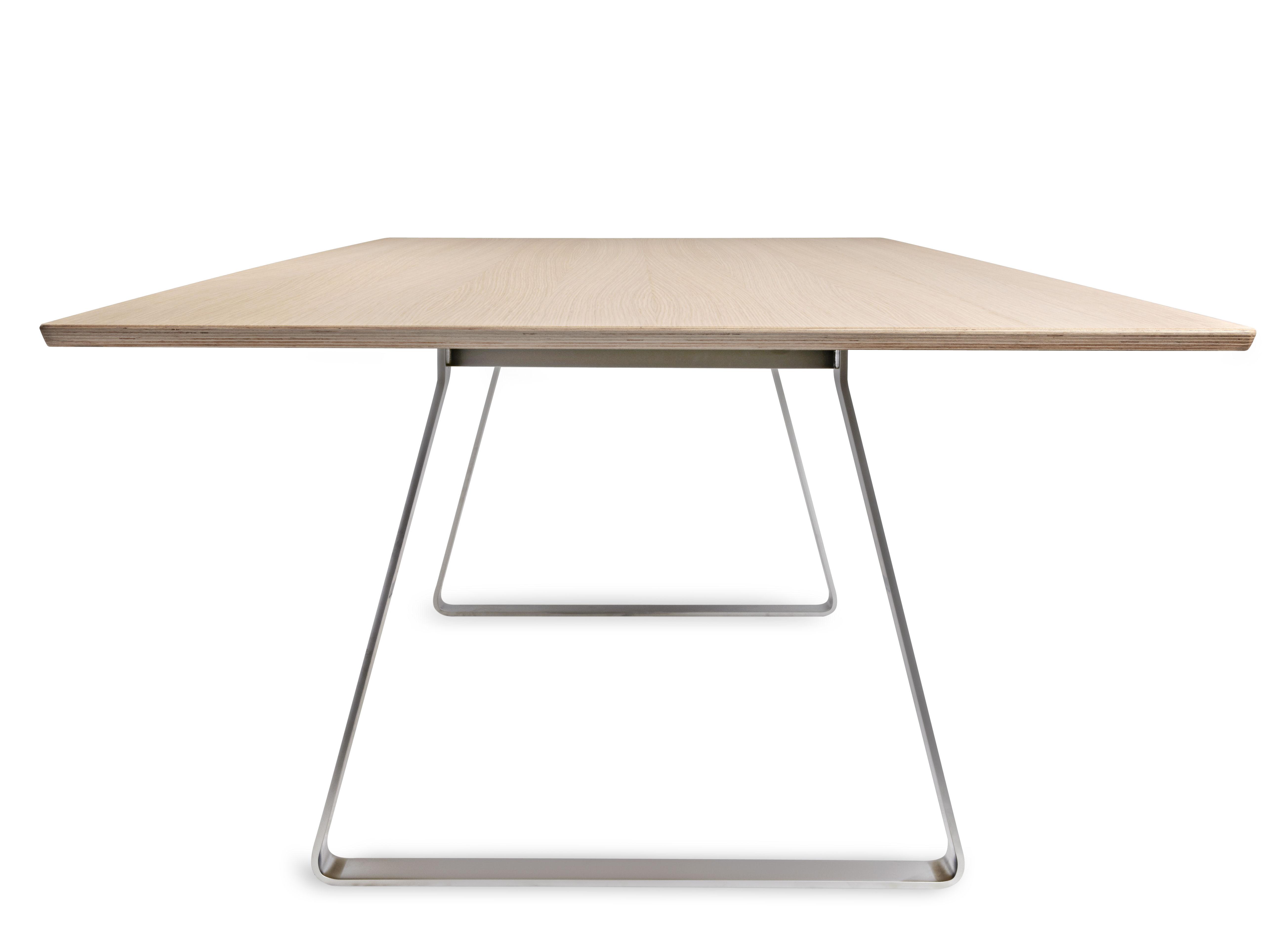 Table mutka 240 x 110 cm ch ne blanchi lapalma for Table 0 5 ans portneuf