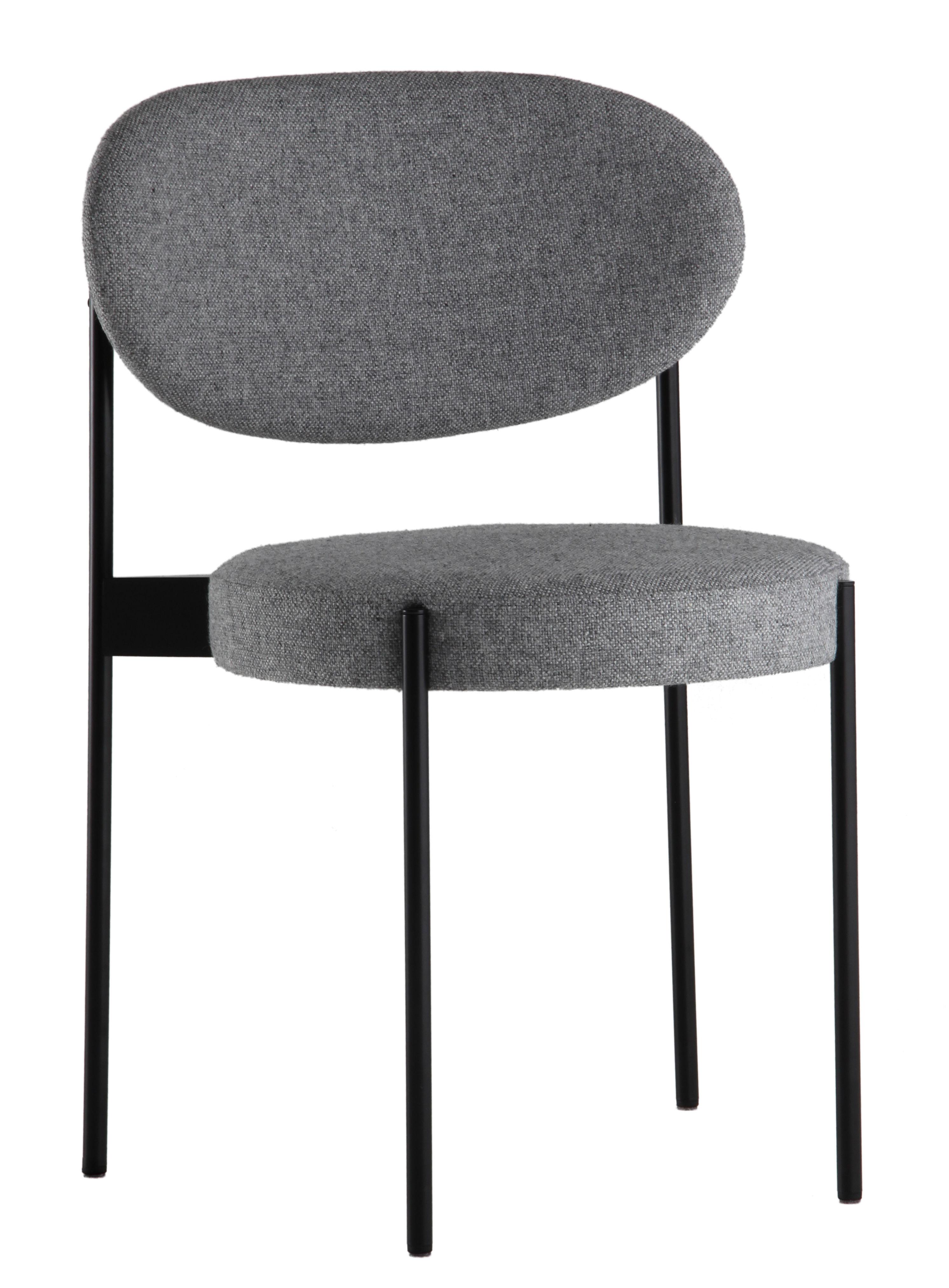 Series 430 sedia imbottita impilabile tessuto - Verner panton sedia ...