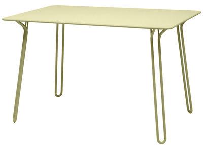 Table Surprising / 120 x 78 cm - Fermob tilleul en métal
