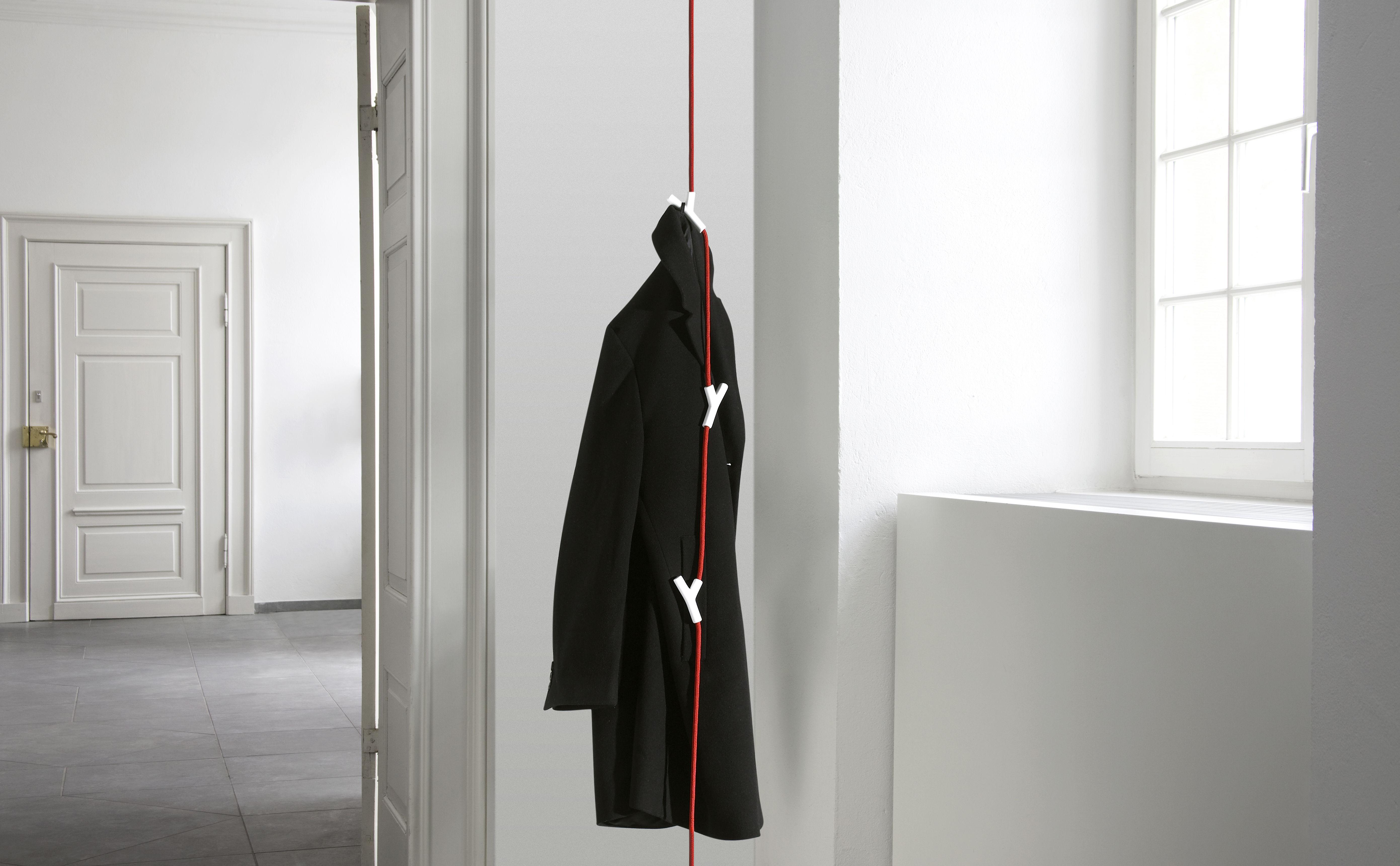 Wardrope h ngegarderobe mit 4 haken authentics garderobe for Garderobe decke