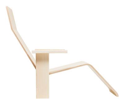 Mobilier - Fauteuils - Chaise longue Quindici MC 15 / Bois - Mattiazzi - Frêne naturel - Frêne massif