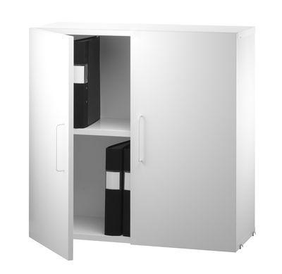 caisson string works 2 portes l 78 cm blanc string furniture. Black Bedroom Furniture Sets. Home Design Ideas