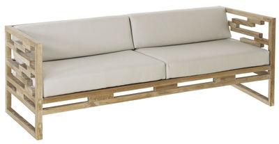 Kontiki Sofa / Teak - L 195 cm - Emu