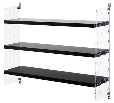 string plex pocket l 60 cm x h 50 cm string furniture regal. Black Bedroom Furniture Sets. Home Design Ideas